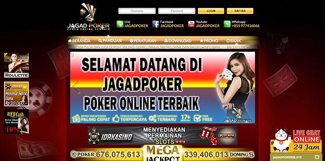 Jagad Poker Situs Judi Deposit Pulsa